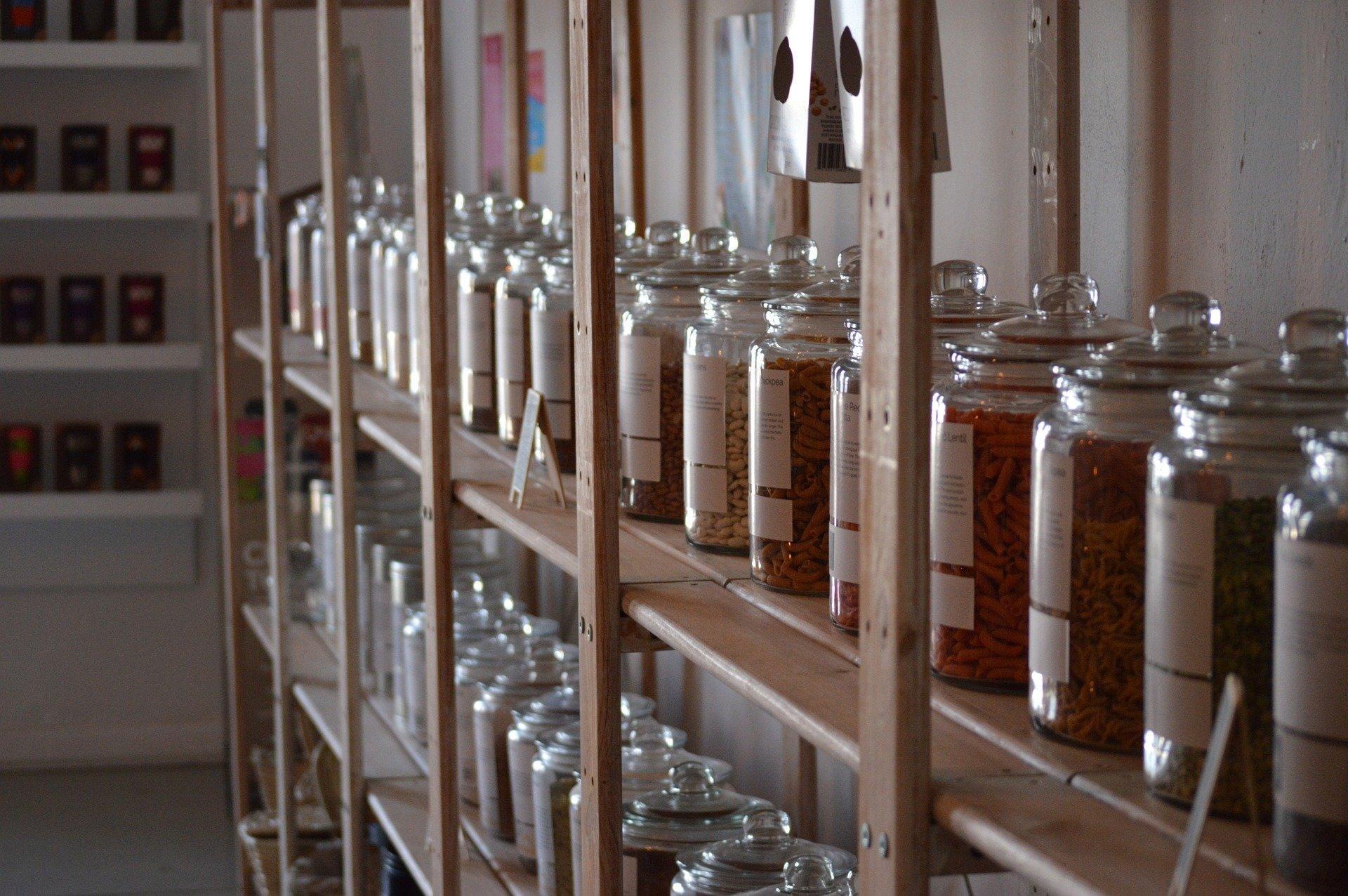 Glazen potten tegen voedselverspilling
