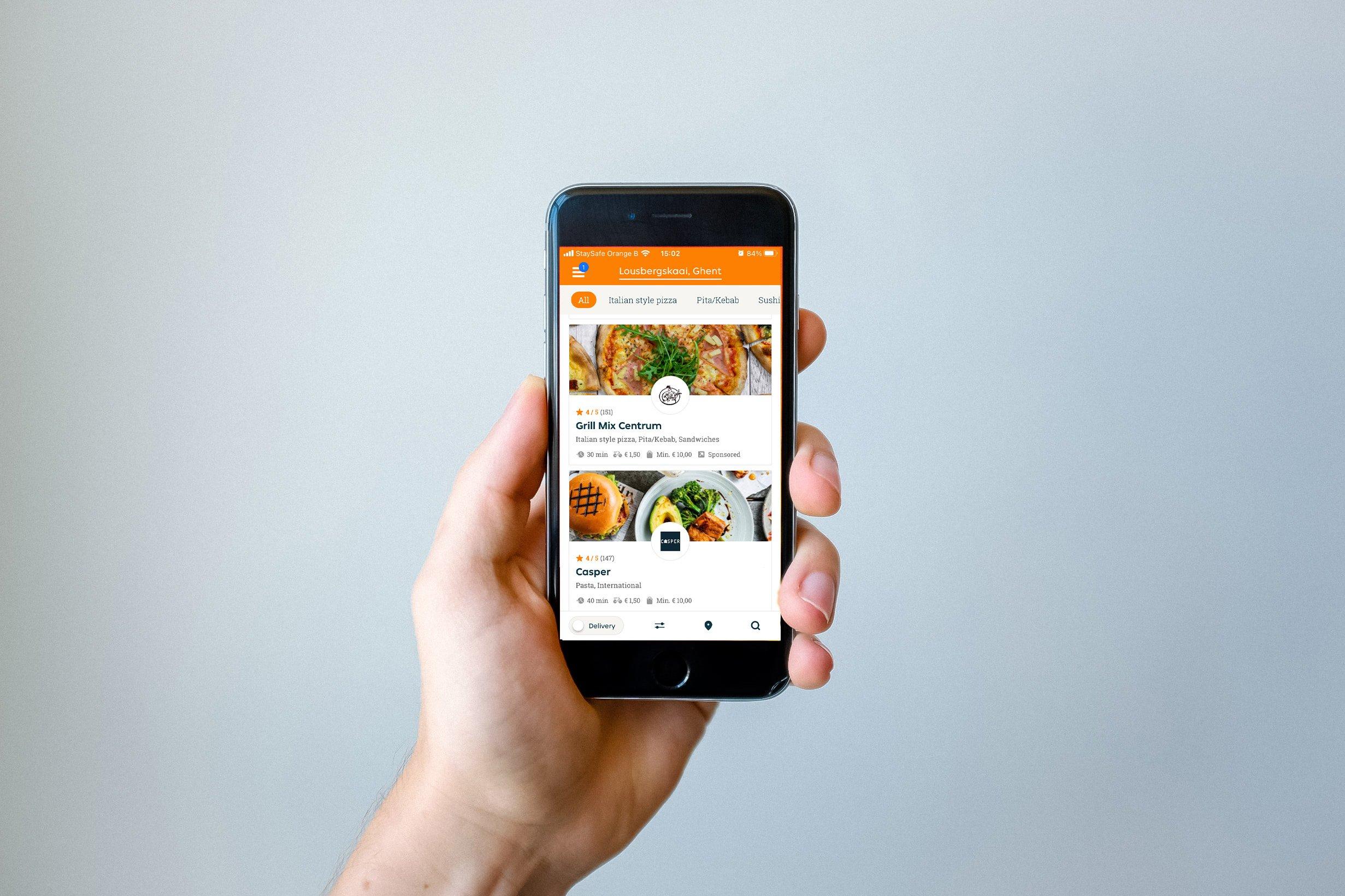 Takeaway app