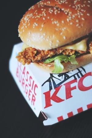 KFC classic burger